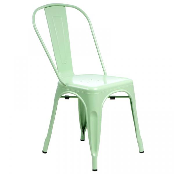 Krzesło D2 Paris zielone  5902385716116