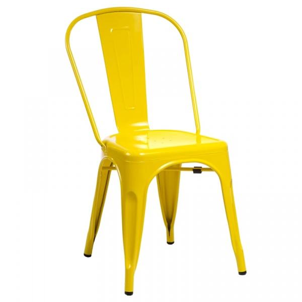 Krzesło D2 Paris żółte  DK-41321