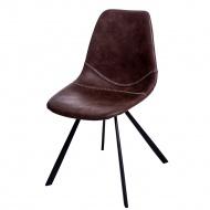 Krzesło D2 Vincent M jasno brązowe