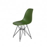Krzesło DSR King Home butelkowa zieleń