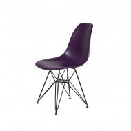 Krzesło DSR King Home fioletowa purpura