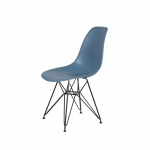 Krzesło DSR King Home pastelowy niebieski