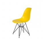 Krzesło DSR King Home żółty słoneczny
