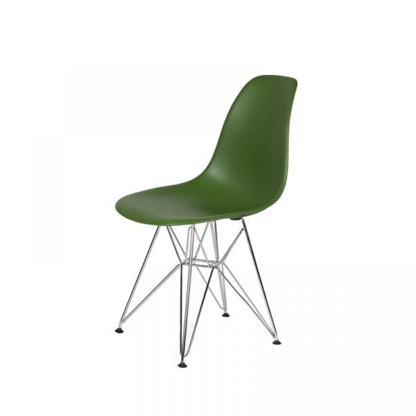 Krzesło DSR Silver King Bath butelkowa zieleń JU-K130.DSR.TARMAC.27