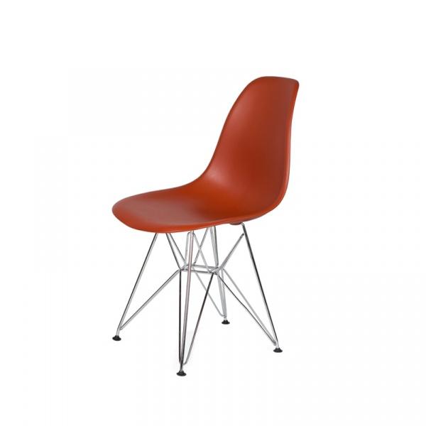 Krzesło DSR Silver King Bath ceglaste K-130.D.ORAN.28.DSR