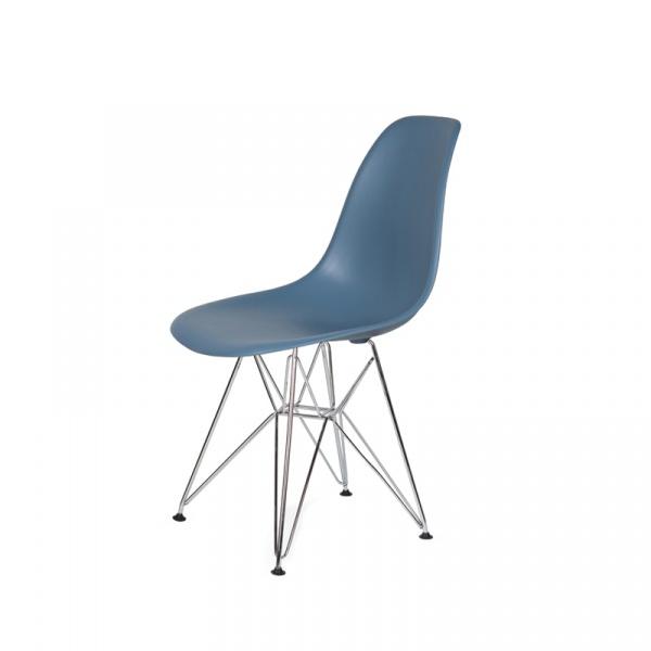 Krzesło DSR Silver King Bath pastelowy niebieski K-130.SLATE.26.DSR