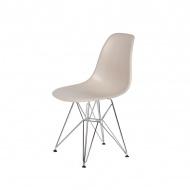 Krzesło DSR Silver King Home ecru beżowy