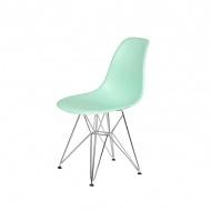 Krzesło DSR Silver King Home pastelowa mięta