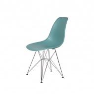 Krzesło DSR Silver King Home pastelowy turkus
