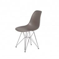 Krzesło DSR Silver King Home popielaty szary