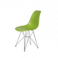 Krzesło DSR Silver King Home soczysta zieleń
