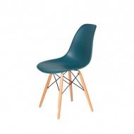 Krzesło DSW Wood King Home marynarski niebieski