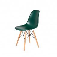 Krzesło DSW Wood King Home myśliwski zielony