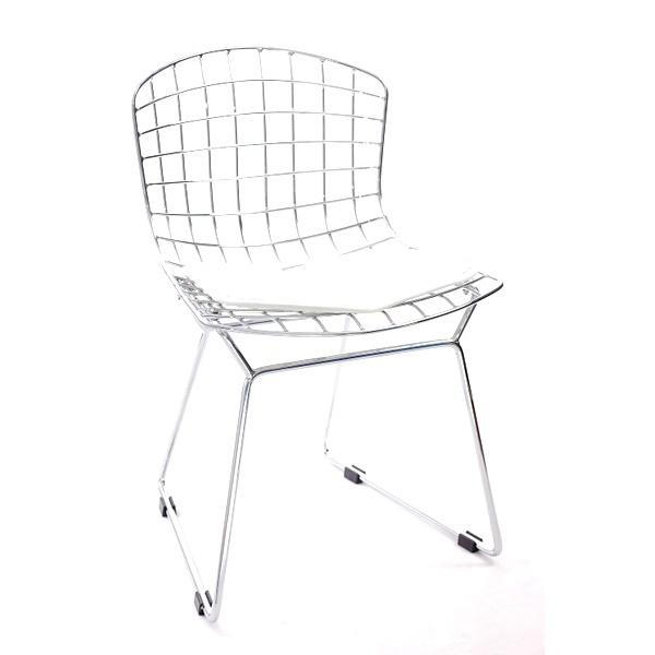 Krzesło dziecięce Harry Junior biała poduszka DK-3532