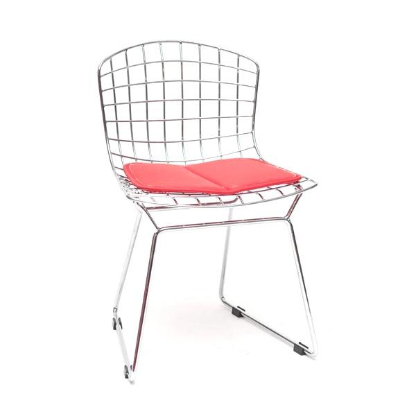 Krzesło dziecięce Harry Junior czerwona poduszka 5902385713306