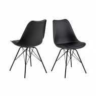 Krzesło Eris PP czarne