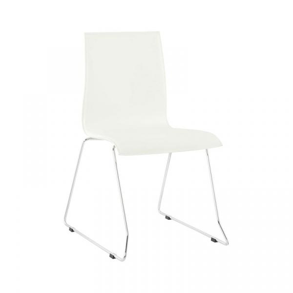 Krzesło Glasgow Kokoon Design biały CH00940WH