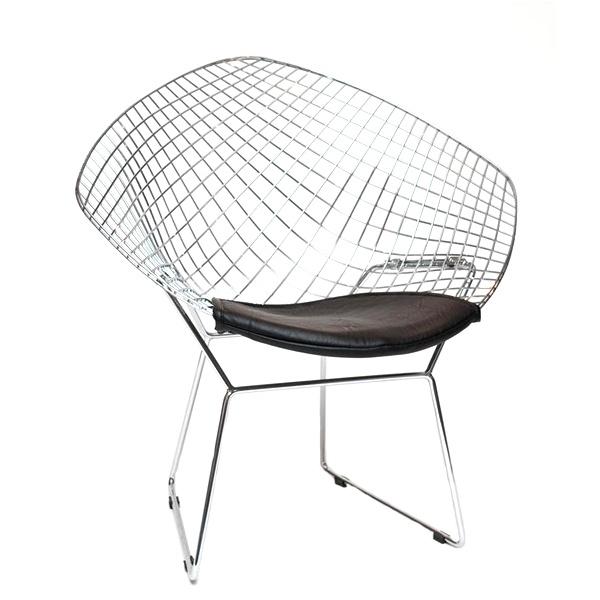 Krzesło HarryArm czarna poduszka DK-3479