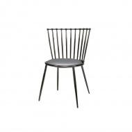 Krzesło jadalniane Glamour Celano silver/grey