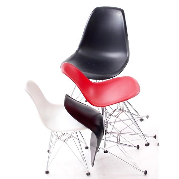 Krzesło JuniorP016 czarne, chrom. nogi DK-17622