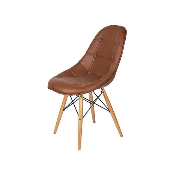 Krzesło King Bath DSW brązowe K-220PU.T23.DSW