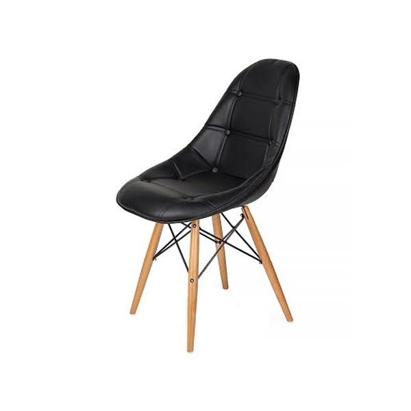 Krzesło King Bath DSW czarne K-220PU.T1.DSW
