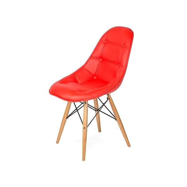 Krzesło King Bath DSW czerwone LI-KK-132PU.CZERWONY