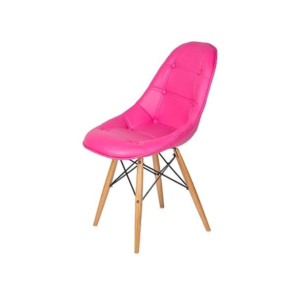 Krzesło King Bath DSW różowe LI-KK-132PU.ROZ.CIEMNY