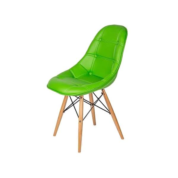 Krzesło King Bath DSW zielone LI-KK-132PU.ZIELONY.CIEMNY