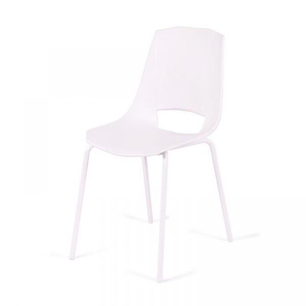 Krzesło King Bath Evva białe MA-K-EVVA004_BIANKO_E1