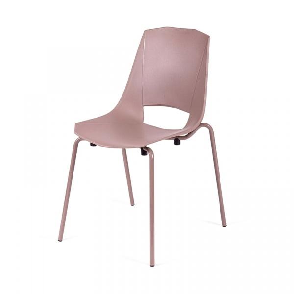 Krzesło King Bath Evva brązowe MA-K-EVVA002_BROWN_E2