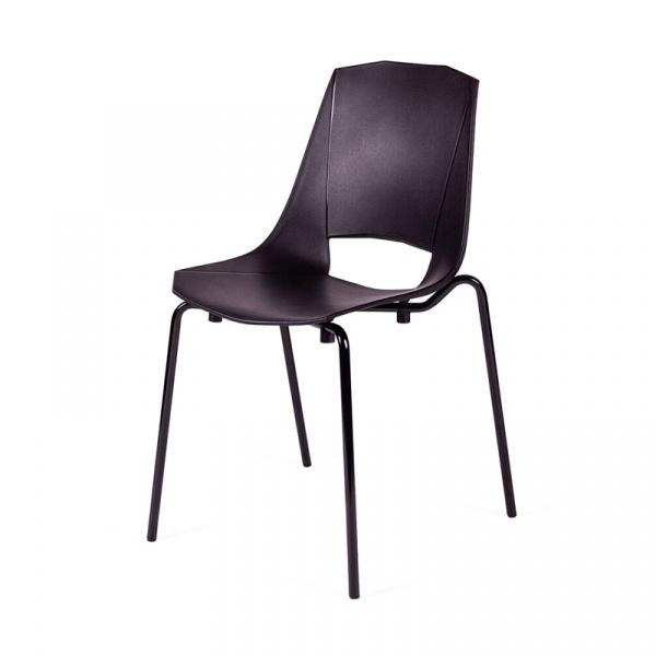 Krzesło King Bath Evva czarne MA-K-EVVA002_NERO_E7
