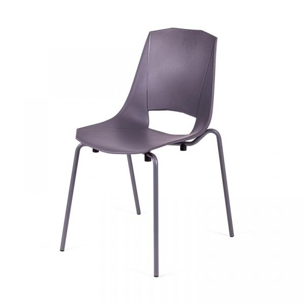 Krzesło King Bath Evva szare MA-K-EVVA002_GREY_E3