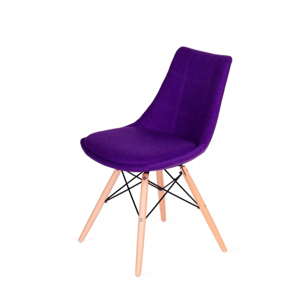 Krzesło King Bath Fabric fioletowe K-146-3.SH08.FIOLET