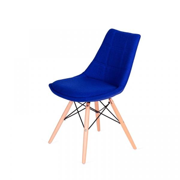 Krzesło King Bath Fabric granatowe LI-K146-3.SH17.DARK_BLUE