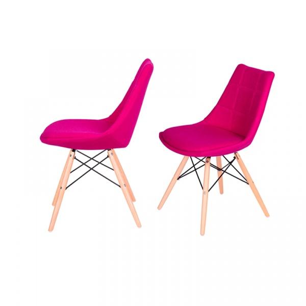 Krzesło King Bath Fabric róża K-146-3.SH11.ROZ