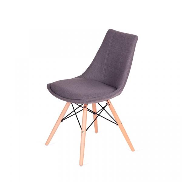 Krzesło King Bath Fabric szare LI-K146-3.SH18.GREY