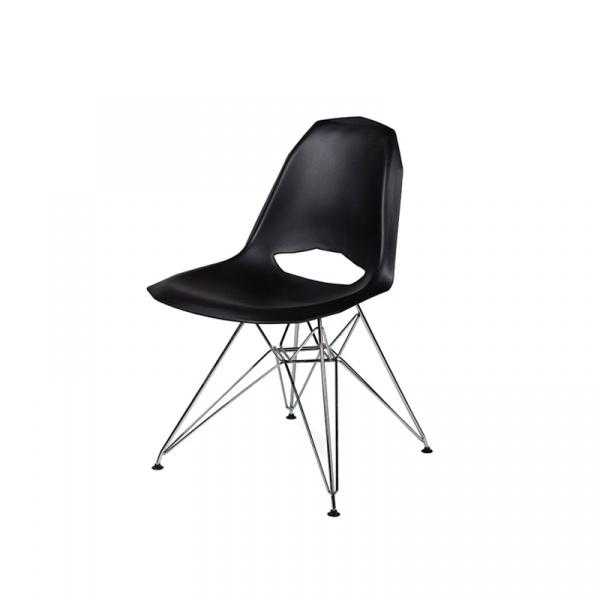 Krzesło King Bath Gular DSR czarny mat RU-KDO-003.CZARNY