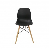 Krzesło King Bath Leaf DSW czarne