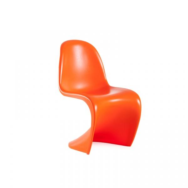 Krzesło King Bath Panton pomarańczowy mat SO-KLC-005.POMARANCZOWY