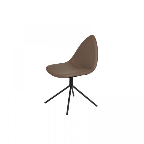 Krzesło King Bath Rush Zanna brązowe DC-14683.BR