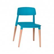 Krzesło King Home Ecco turkusowe