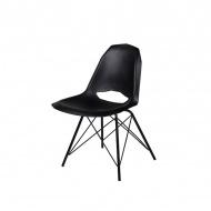 Krzesło King Home Gular DSM czarny mat