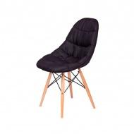 Krzesło King Home Rugo czarne