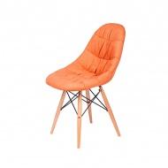 Krzesło King Home Rugo pomarańczowe