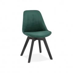 Krzesło Kokoon Desgin Phil zielone nogi czarne