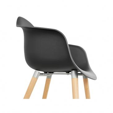 Krzesło Kokoon Design Cloud czarne