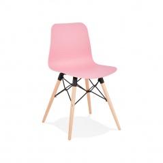 Krzesło Kokoon Design Ginto Różowe