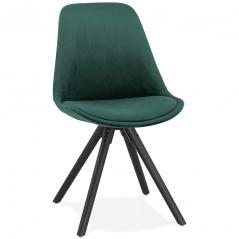 Krzesło Kokoon Design Jones zielone nogi czarne