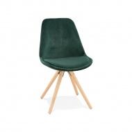 Krzesło Kokoon Design Jones zielone nogi naturalne